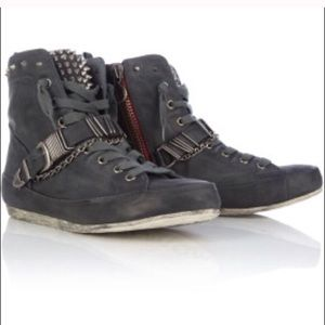 Sam Edelman Alexander Studded Leather Sneakers 8